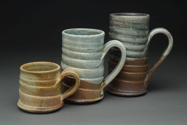 Tom White Pottery Mugs
