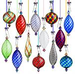 Lucy Bergamini Glass Ornaments