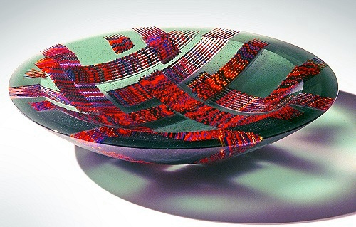 """In Depth"" Martin Kremer Fused Glass"