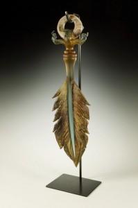 Gartner Blade Arbor Amulet Sculpture