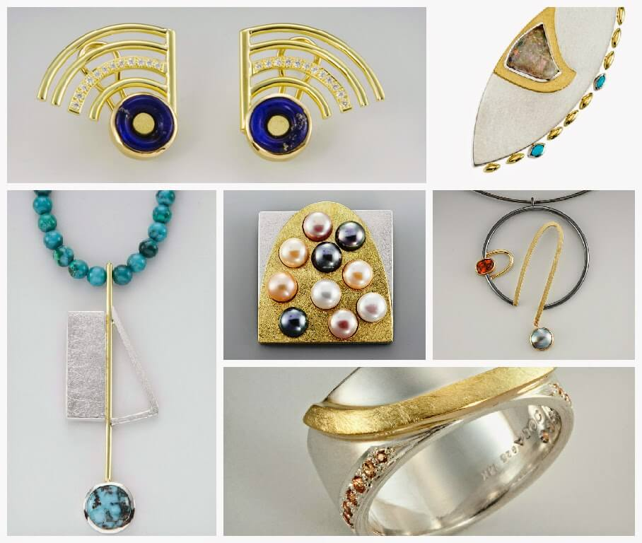 Janis Kerman jewelry - spring 2015 selections (collage)
