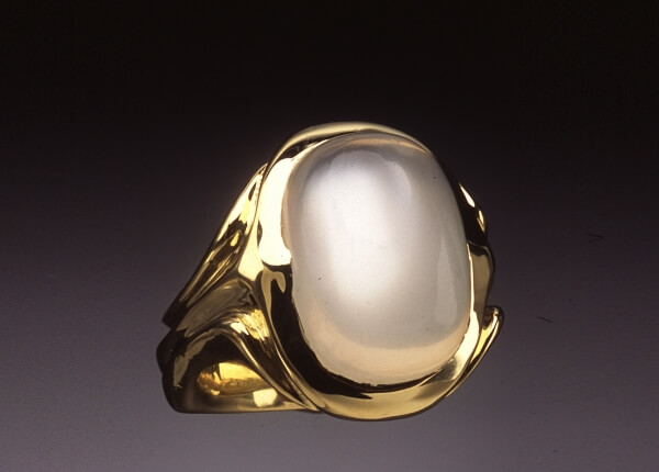 Mens Moonstone Cabochon Ring Skylight Jewelers