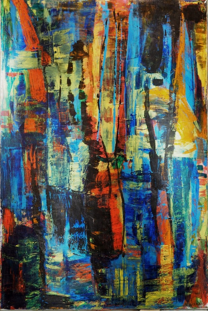 Painting by Viviane Boyd