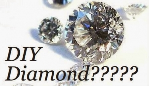 Page title DIY Diamond? shows some diamonds
