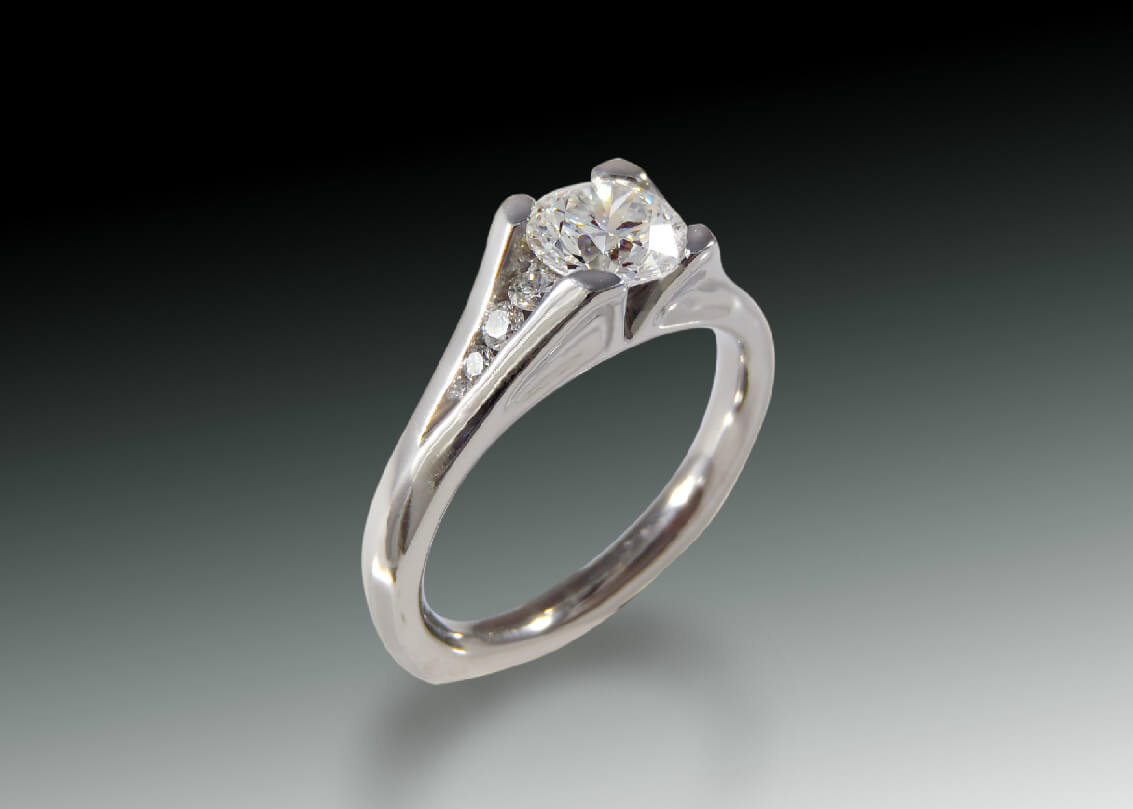 New Classic Engagement Ring