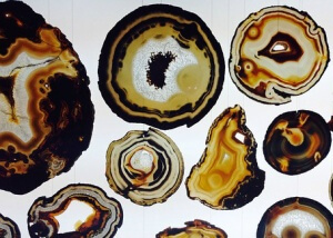 Agate Gemstone Slices