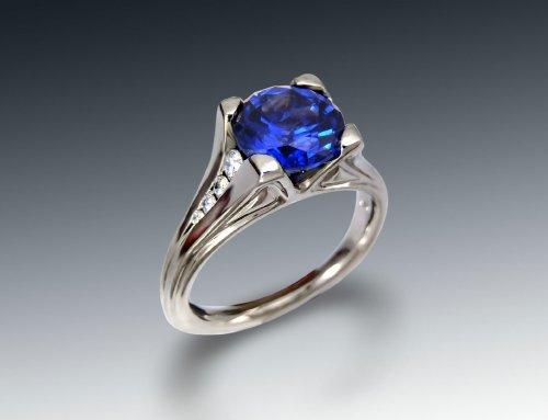 Chatham Sapphire Engagement