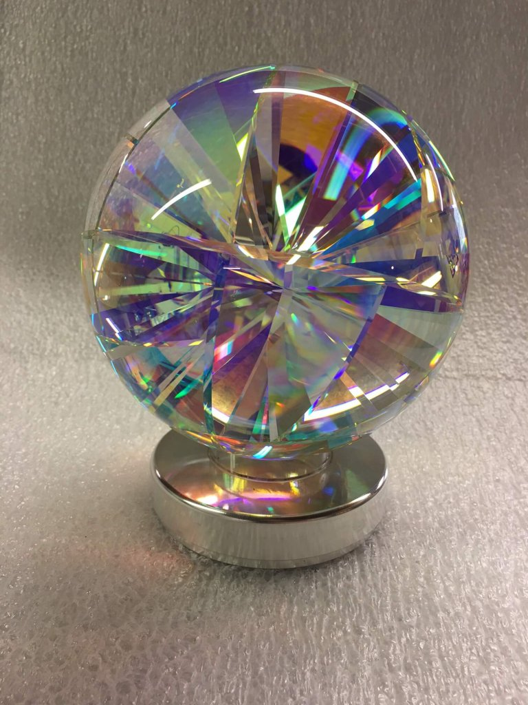 Dichroic Glass Sphere
