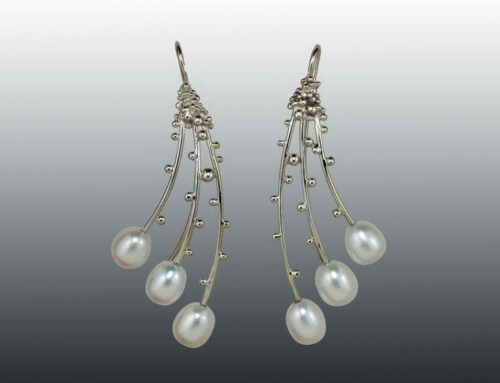 Pearl Branches Earrings