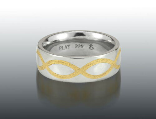 Platinum 22K Infinity Ring