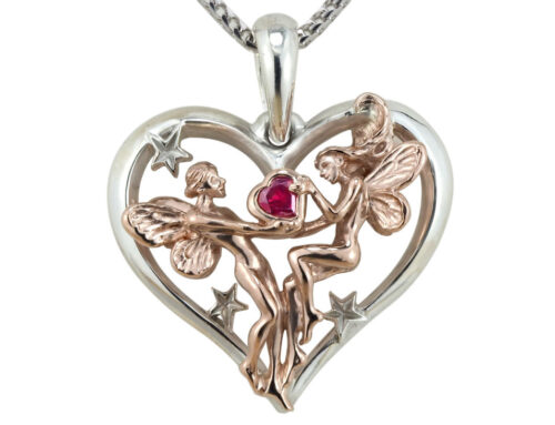Valentine's Fairies Pendant